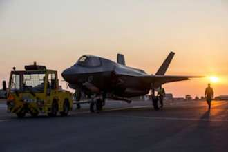 The F-35 jets made their operational debut after outstanding performance in training