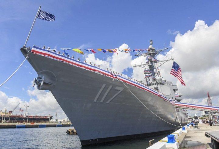 USS Paul Ignatius (DDG 117), U S  Navy's Newest Destroyer Brought to