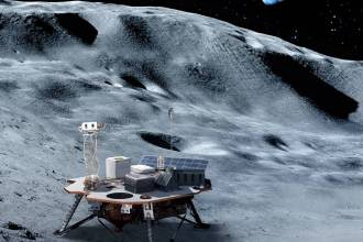 commercial lander moon