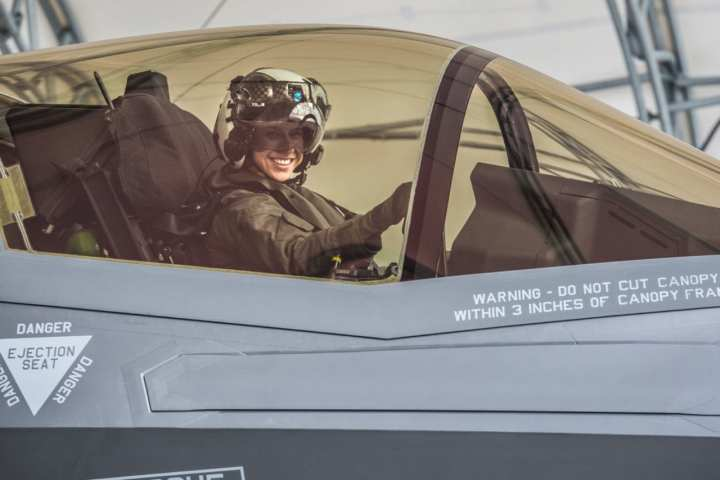 First Female Marine to Become F-35B Pilot | Defense Media