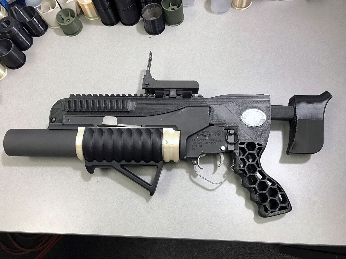 3D printer 3D weapons manufacturing parts supplier logistic forward deployed defense additive manufacturing defensemedianetwork.com