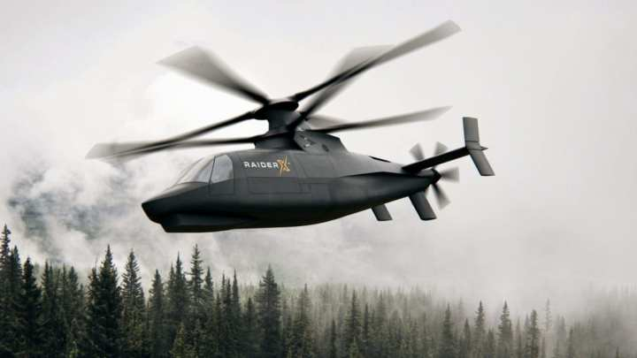 Sikorsky introduced RAIDER X as its entry to the U.S. Army's Future Attack Reconnaissance Aircraft (FARA) prototype competition. RAIDER X draws on Lockheed Martin's broad expertise in developing innovative systems using the latest digital design and manufacturing techniques. Image courtesy, Sikorsky a Lockheed Martin company.