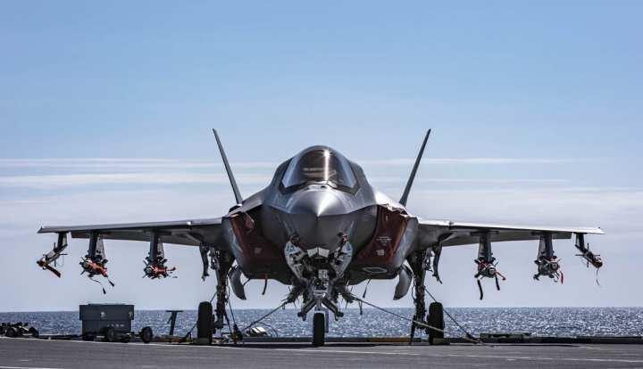 Royal Navy F-35 JSF Beast Mode Full Loaded HMS Queen Elizabeth
