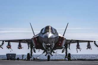 Royal Navy F-35 JSF Beast Mode Full Loaded HMS Queen Elizabeth