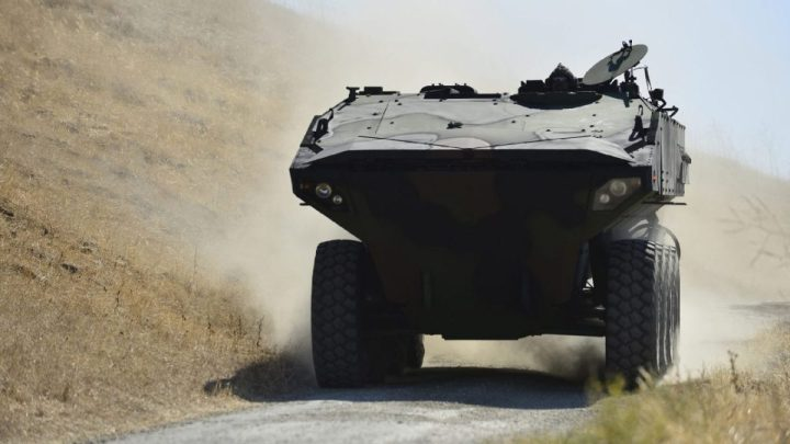 Marine Corps ACV Amphibious Combat Vehicle Fighting Vehicles Land System