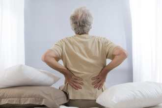 veteran pain management back ache senior man
