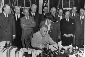 GI Bill Signing President Franklin D. Roosevelt