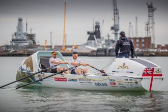Royal Navy submariners to row across Atlantic ocean.