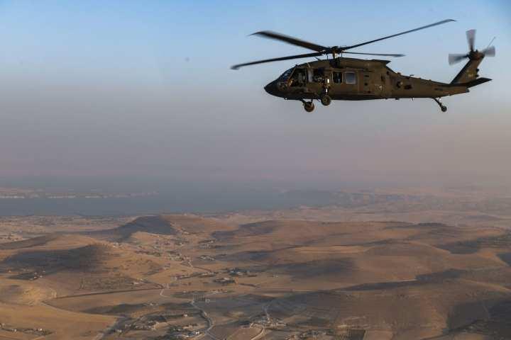 UH-60 Blackhawk over Syria