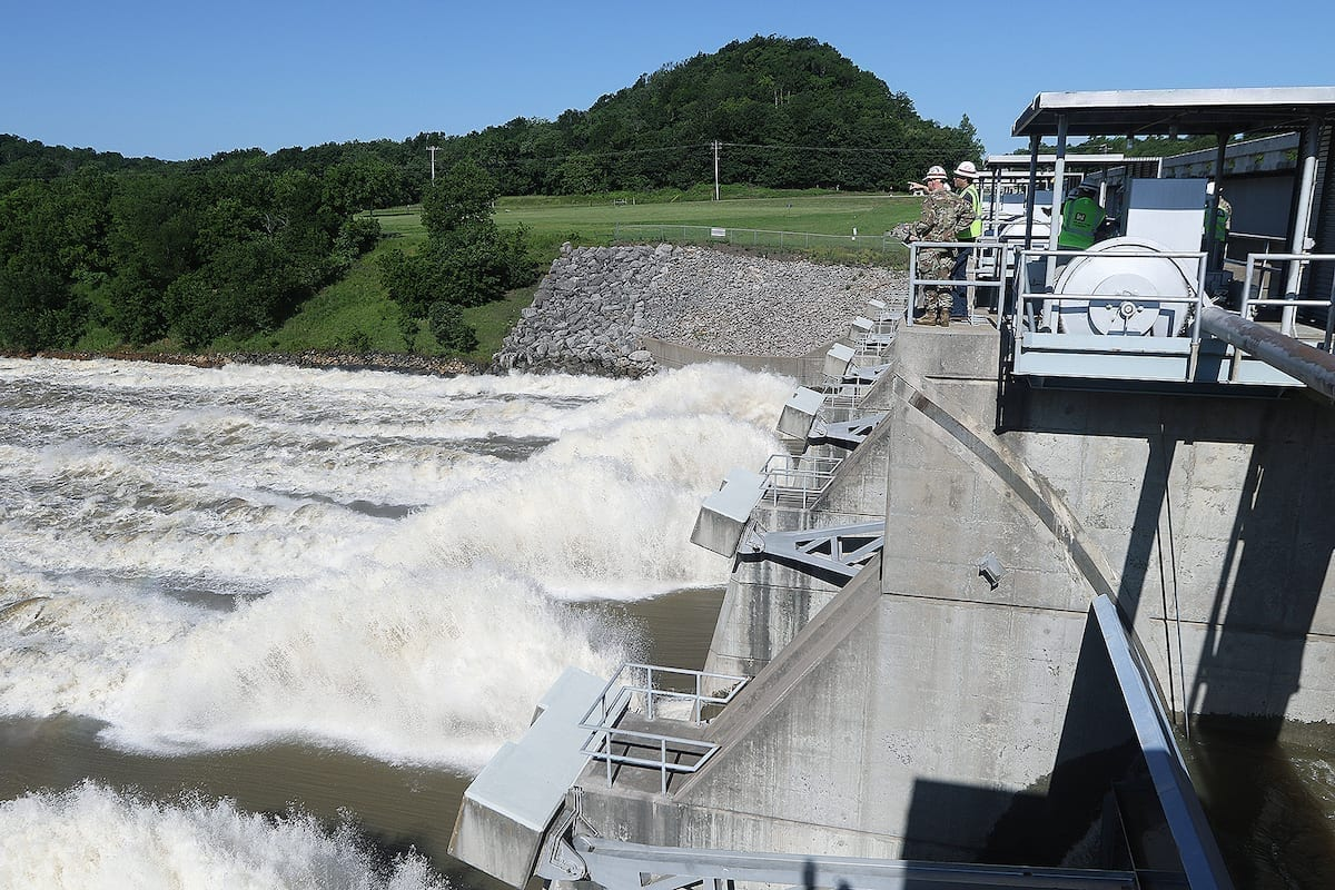 Spillway at Oolagah Lake US Army Corps of Engineers