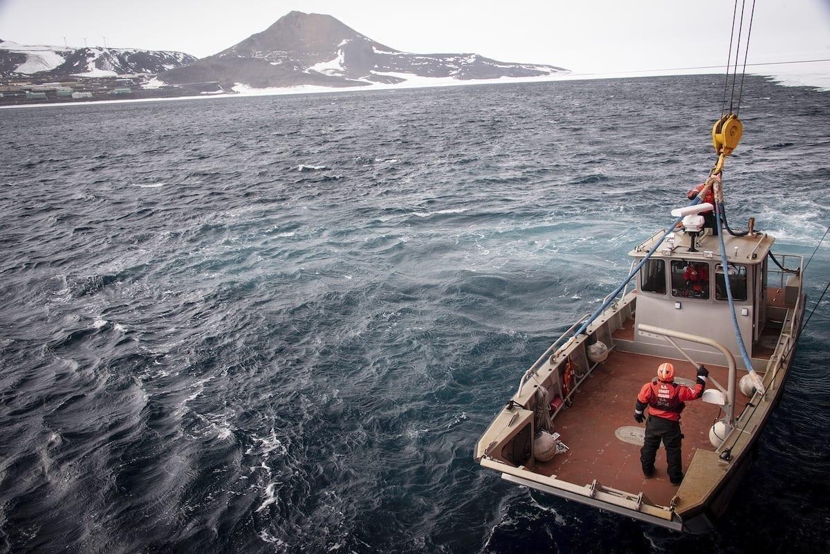 Coast Guard Antarctica Icebreaker Mission