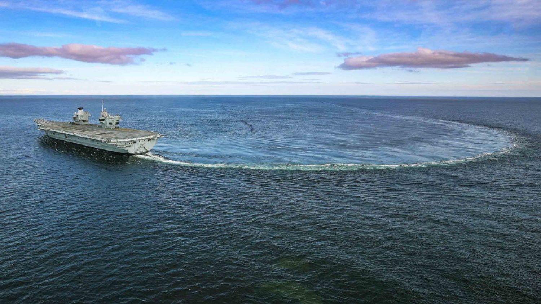 HMS Prince of Wales (British Royal Navy image)
