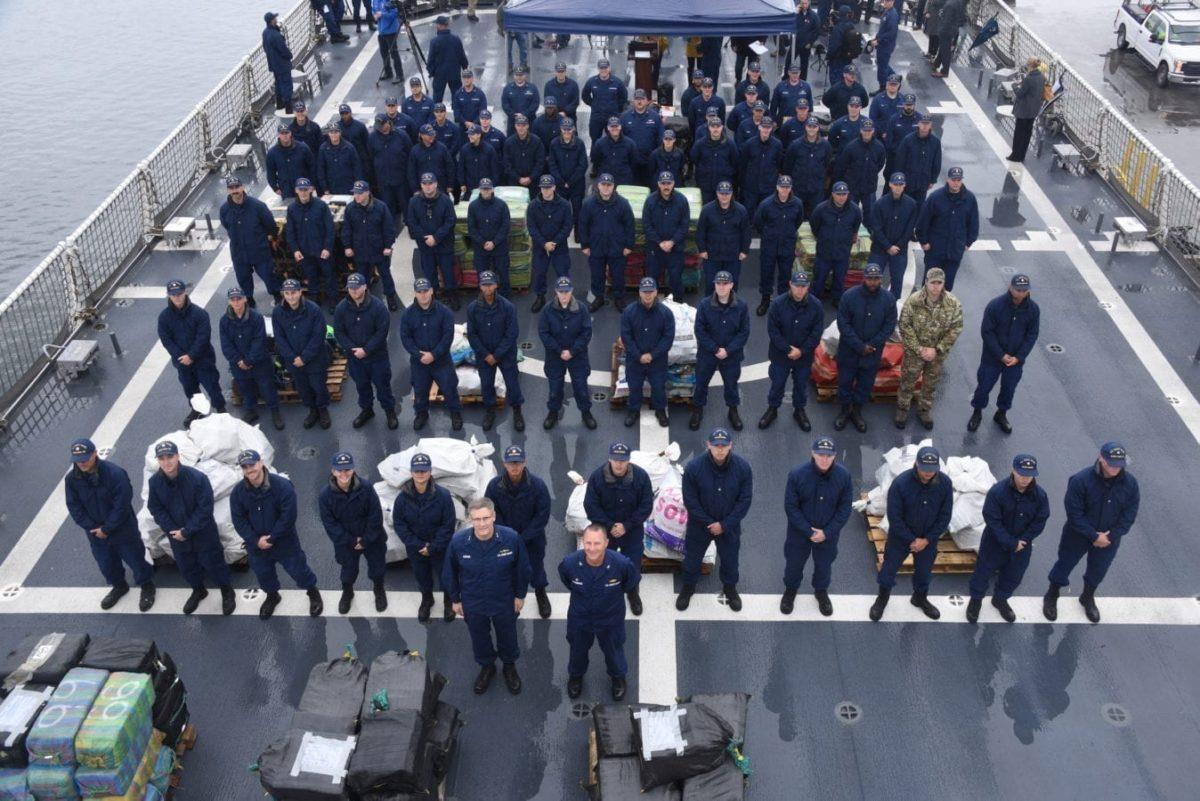 Coast Guard cocaine drug interdiction