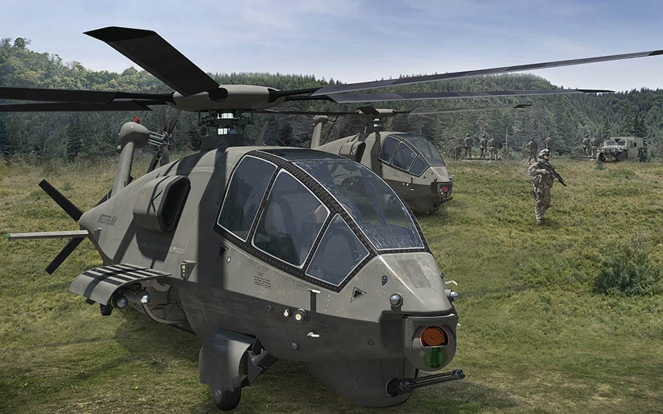 Boeing U.S. Army Helicopter concept FARA
