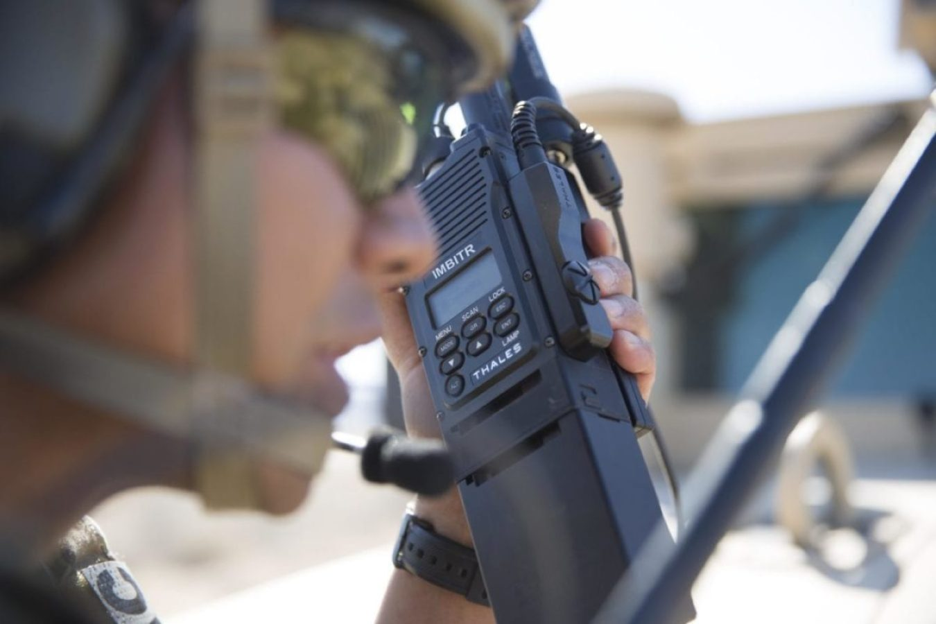 Special Operations Tactical Communications AN/PRC-148C Improved Multiband Inter-Intra Team Radio (IMBITR)