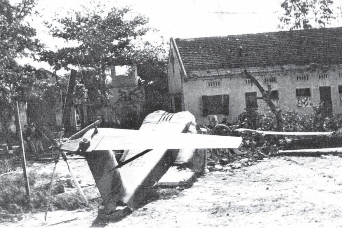 Banana 1 destroyed by Son Tay Raid Vietnam War Special Operations