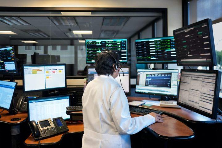 Philips tele-critical care center. (Philips image)
