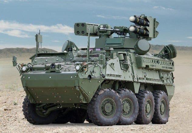 General Dynamic U.S. Army Stryker IM-SHORAD Land Vehicle