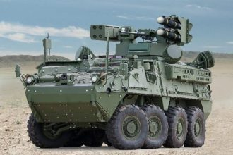 General Dynamic U.S. Army Stryker IM-SHORAD Land Vehicle