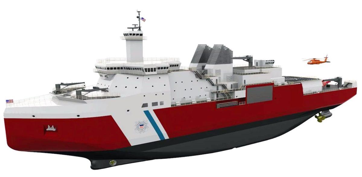 Coast Guard's new polar security cutter