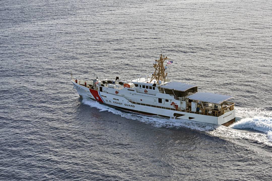 Coast Guard Cutter Myrtle Hazard (WPC 1139)
