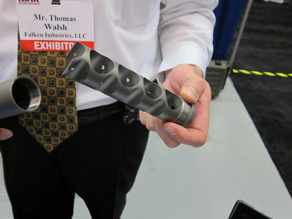 Falken Industries M Series Lightweight Titanium Silencers