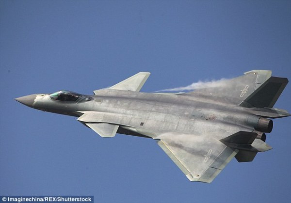 Chinese Chengdu J-20 Low-Observable/Stealth Jet Fighter ...
