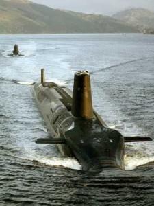 HMS Vanguard SSBN