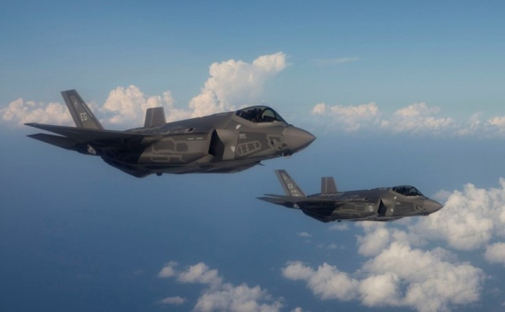 A Pair of U.S. Air Force F-35A Joint Strike Fighters. Source: U.S. Air Force