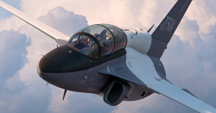 Lockheed Martin/Korea Aerospace Industries T-50A. Source: Lockheed Martin