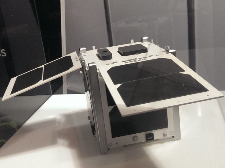 Outernet 1U CubeSat designed by Clyde Space