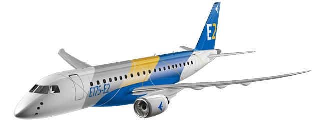 Embraer E175-E2 regional jet
