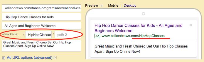Vanity URLs can help improve click-through rate.