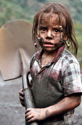 Resultat d'imatges de trabajo infantil
