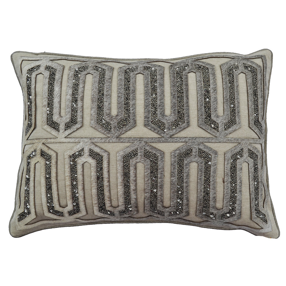 cloud9 design emory01c gy 14x20 emory decorative pillow
