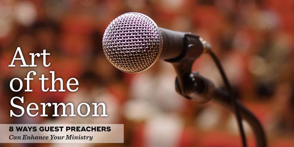38: 8 Ways Guest Preachers Can Enhance Your Ministry – An AOTS Minisode – Art of the Sermon