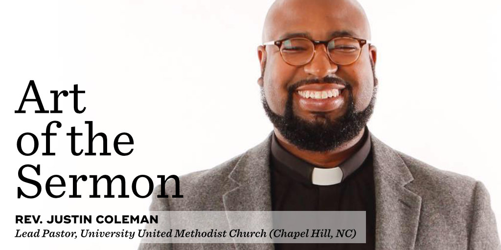 58: Identity and Preaching – An Interview with Rev. Justin Coleman – Art of the Sermon