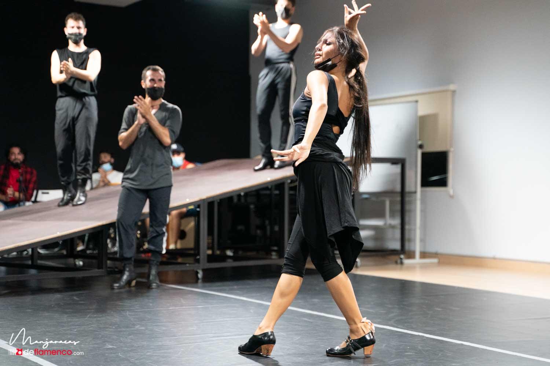 Ensayos 'Amores flamencos' con María Cruz