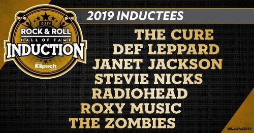 Def Leppard Report-2019 Rock and Roll Hall of Fame ceremony inductees