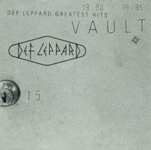 Def Leppard Vault Cover