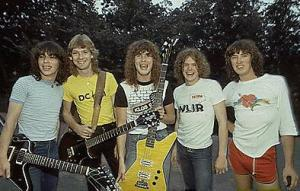 Def Leppard 1980 band photo