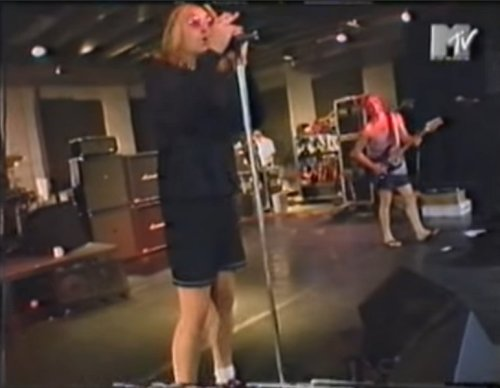 Def Leppard rehearsal footage Slang tour MTV interview
