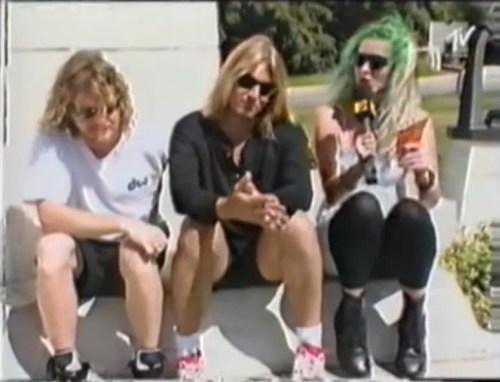 Def Leppard Joe Elliott and Rick Allen MTV Slang interview