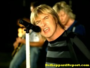 Def Leppard Now music video