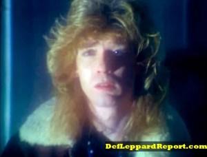 Steve Clark in Def Leppard Bringin On The Heartbreak music video remix