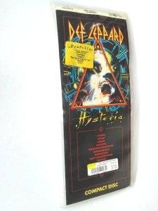 Def Leppard Hysteria CD packaging
