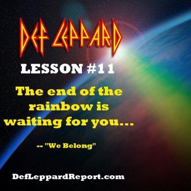 Def Leppard We Belong Lyrics Lesson