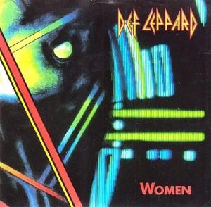 Def Leppard Hysteria single Women vinyl 45