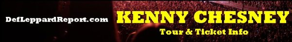 Kenny Chesney tour concert tickets