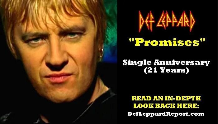 Def Leppard Promises Song Spotlight